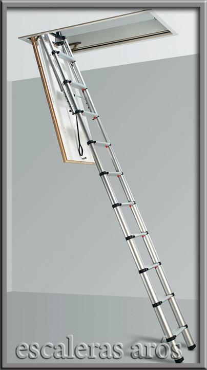 Escalera escamoteable loft escaleras ar s for Escalera escamoteable