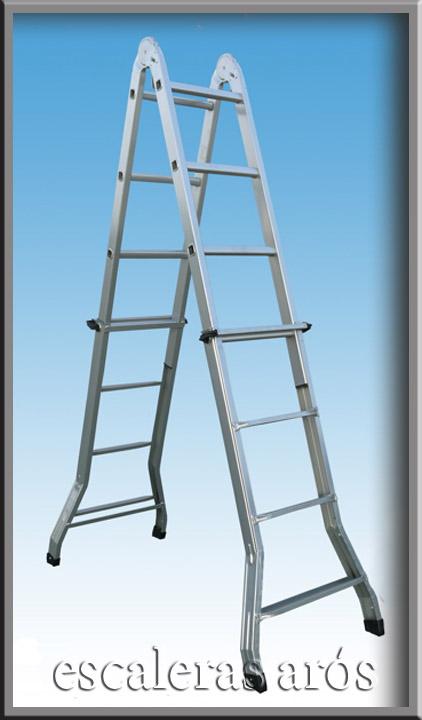Escalera multiusos serafina escaleras aros for Escalera multiusos