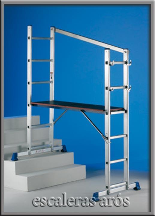 Andamio aluminio techno escaleras ar s - Escalera andamio aluminio ...
